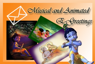 Radha Krishna Musical and Animated E-Greetings
